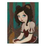 Snow White - SteamPunK Fairy Tale PostCard