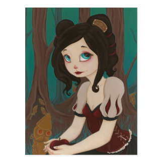 Snow White - SteamPunK Fairy Tale PostCard