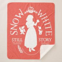 Snow White | Still The Fairest Sherpa Blanket
