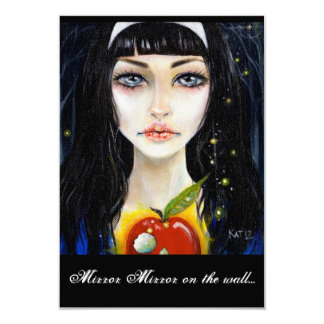 Snow White & the poison apple Custom Invitations