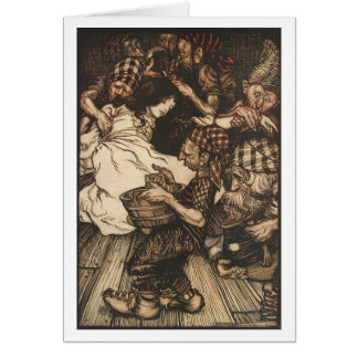 Snow White & the Seven Dwarfs Greeting Card