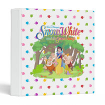 Snow White & the Seven Dwarfs | Wishes Come True 3 Ring Binder