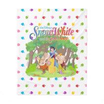 Snow White & the Seven Dwarfs | Wishes Come True Fleece Blanket