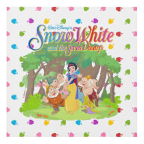 Snow White & the Seven Dwarfs | Wishes Come True Panel Wall Art