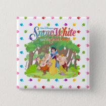 Snow White & the Seven Dwarfs | Wishes Come True Pinback Button