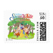 Snow White & the Seven Dwarfs | Wishes Come True Postage