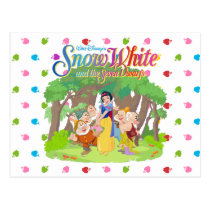 Snow White & the Seven Dwarfs | Wishes Come True Postcard