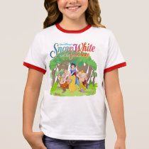 Snow White & the Seven Dwarfs | Wishes Come True Ringer T-Shirt