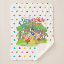 Snow White & the Seven Dwarfs | Wishes Come True Sherpa Blanket