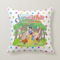 Snow White & the Seven Dwarfs | Wishes Come True Throw Pillow