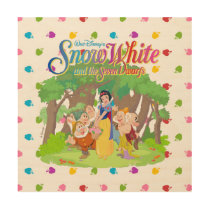 Snow White & the Seven Dwarfs | Wishes Come True Wood Print