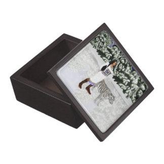 Snow White Tiger Keepsake Box