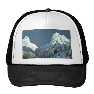 Snow-White Trees Trucker Hats