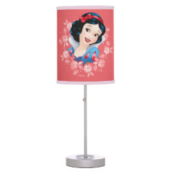 Table Lamp with Iconic: Cinderella Framed design