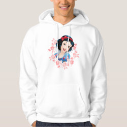 Men's Basic Hooded Sweatshirt with Cute Cartoon Disgust from Inside Out design