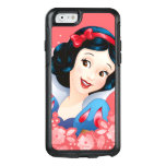 Snow White | Watercolor Floral Frame OtterBox iPhone 6/6s Case