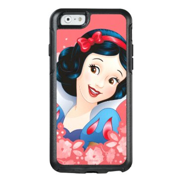 Disney Themed Snow White | Watercolor Floral Frame OtterBox iPhone 6/6s Case