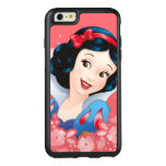 Snow White | Watercolor Floral Frame OtterBox iPhone 6/6s Plus Case
