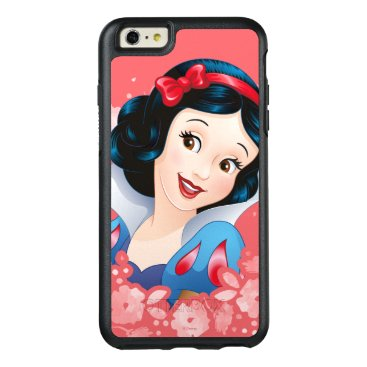 Disney Themed Snow White | Watercolor Floral Frame OtterBox iPhone 6/6s Plus Case