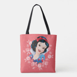 All-Over-Print Tote Bag, Medium with Frozen's Kristoff with Olaf the Snowman and Sven the Reindeer design