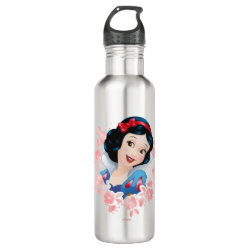 Water Bottle (24 oz) with Cute Cartoon Disgust from Inside Out design