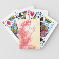 Descendants Auradon Prep Fancy Crest Playing Cards