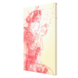 Premium Wrapped Canvas with Iconic: Cinderella Framed design