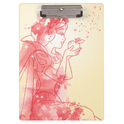 Clipboard with Starry Night Princess Cinderella design