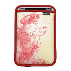 iPad Mini Sleeve with Stylized Marshmallow Silhouette design