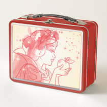 Snow White | Watercolor Outline Metal Lunch Box
