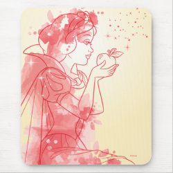 Mousepad with Frozen's Olaf: I Love Warm Hugs design