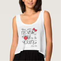Snow White | You Are Never To Old To Be Young 2 Tank Top