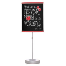 Snow White | You Are Never To Old To Be Young Desk Lamp