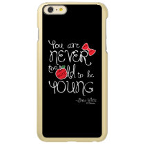 Snow White | You Are Never To Old To Be Young Incipio Feather® Shine iPhone 6 Plus Case