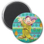 Snow White's Dopey 2 Inch Round Magnet