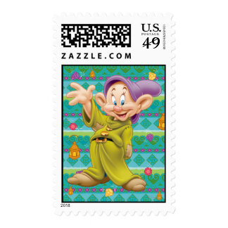 Snow White's Dopey Stamps