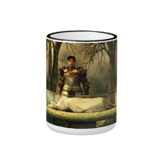 Snow White's Glass Coffin Ringer Mug
