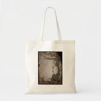 Snow White's Magic Mirror Tree Tote Bag