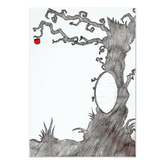 Snow White's Magic Tree 5x7 Paper Invitation Card