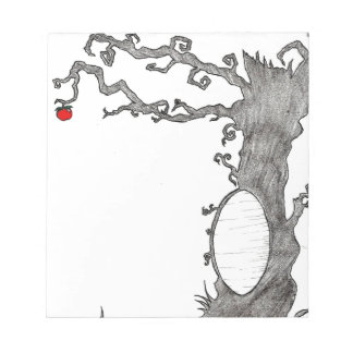 Snow White's Magic Tree Notepad