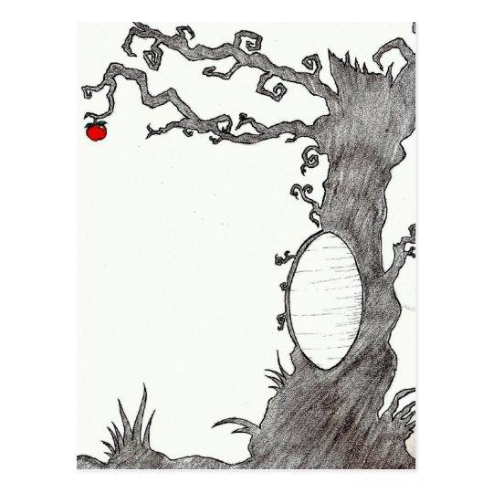 Snow White's Magic Tree Postcard