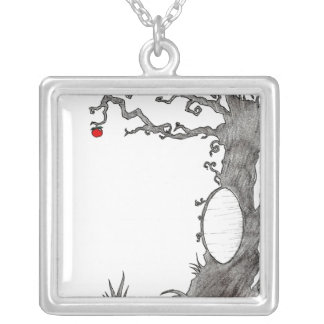 Snow White's Magic Tree Silver Plated Necklace