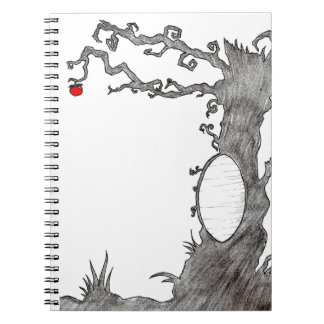 Snow White's Magic Tree Spiral Notebook