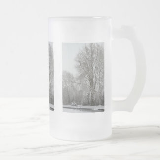 Snow Willow Coffee Mug