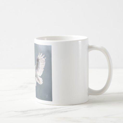 Snow wings classic white coffee mug