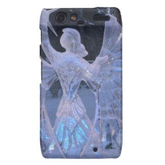 Snow Winter Sculpture  angel  Christianity Faith Motorola Droid RAZR Cases