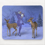 Snow Witch Mouse Pad