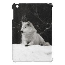 Snow Wolf iPad Mini Cover
