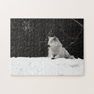Snow Wolf Jigsaw Puzzles