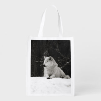 Snow Wolf Market Totes